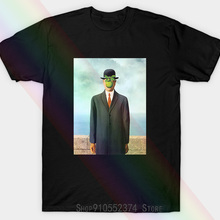 The Son Of Man Unisex T-shirt By Rene Magritte Mens Unisex T-shirt