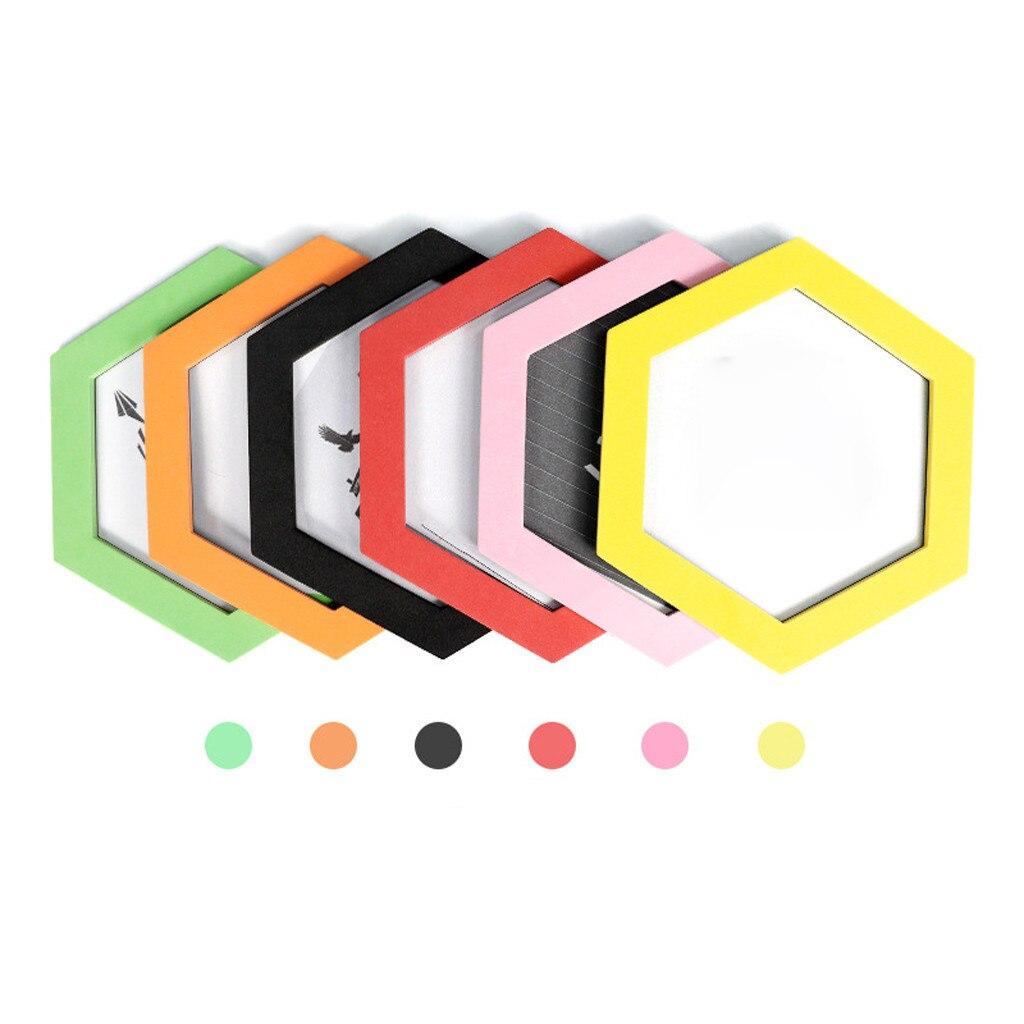 Cornici Colorate Per Foto us $2.0 51% di sconto|colorato esagonale magnetico cornici foto magneti  cornice frigoriferi 2020 hot nuovi prodotti spot fornitore