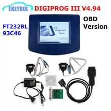 DIGIPROG III V 4,94 OBD Version Entfernungsmesser programmierer Digiprog 3 Laufleistung Richtige Digiprog3 OBD FT232BL & 93C46 DIGIPROG OBD ST01 ST04