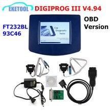 DIGIPROG III V4.94 OBD 버전 주행 프로그래머 Digiprog 3 마일리지 수정 Digiprog3 OBD FT232BL & 93C46 DIGIPROG OBD ST01 ST04