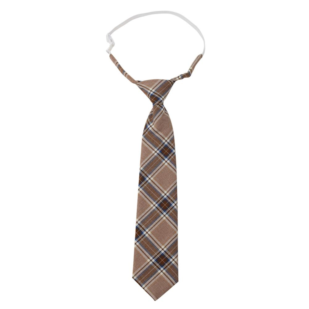 Boys Girls School Uniforms Children's Ties Plaid Necktie For Kids