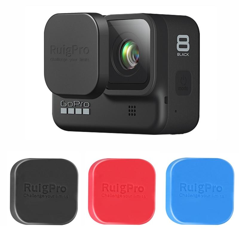 Silicone Protective Case Sport Camera Lens Cover Strap Kit for GoPro Hero 8