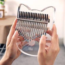 Musical-Instrument Teclado-Machine Finger-Piano Kalimba Crystal Thumb Exclusive-Design