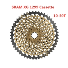 SRAM XX1 kartal kaset 12s XG 1299 dağ bisikleti bisiklet Freewheel 12 hız MTB yol bisikleti bisiklet 10  50T altın kasetleri