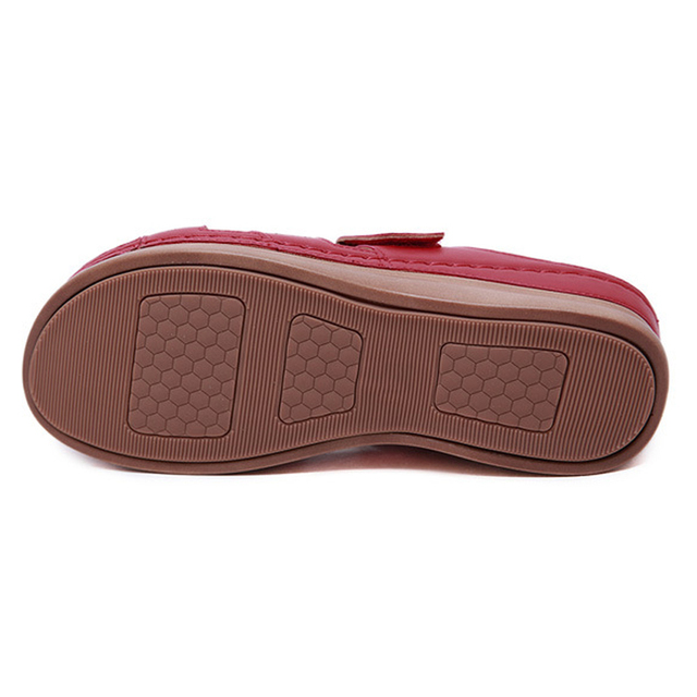 2020 Summer Women Premium Orthopedic Open Toe Sandals Vintage Anti-slip Breathable Leather Casual Female Platform Retro Shoes