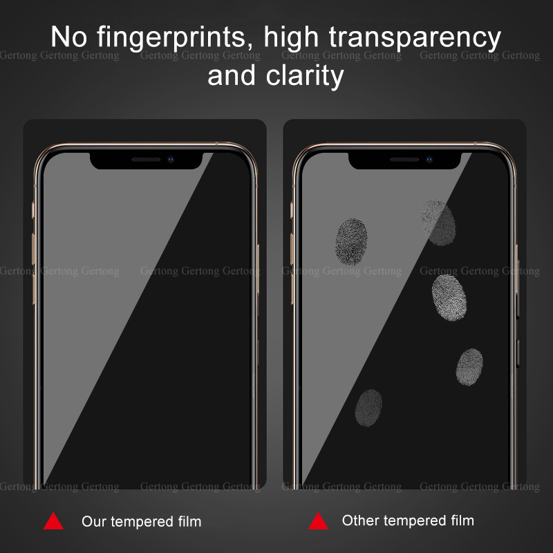 Premium Clear Screen Protector Glass film For iPhone 11 pro max 7 8 6 6s Plus 3