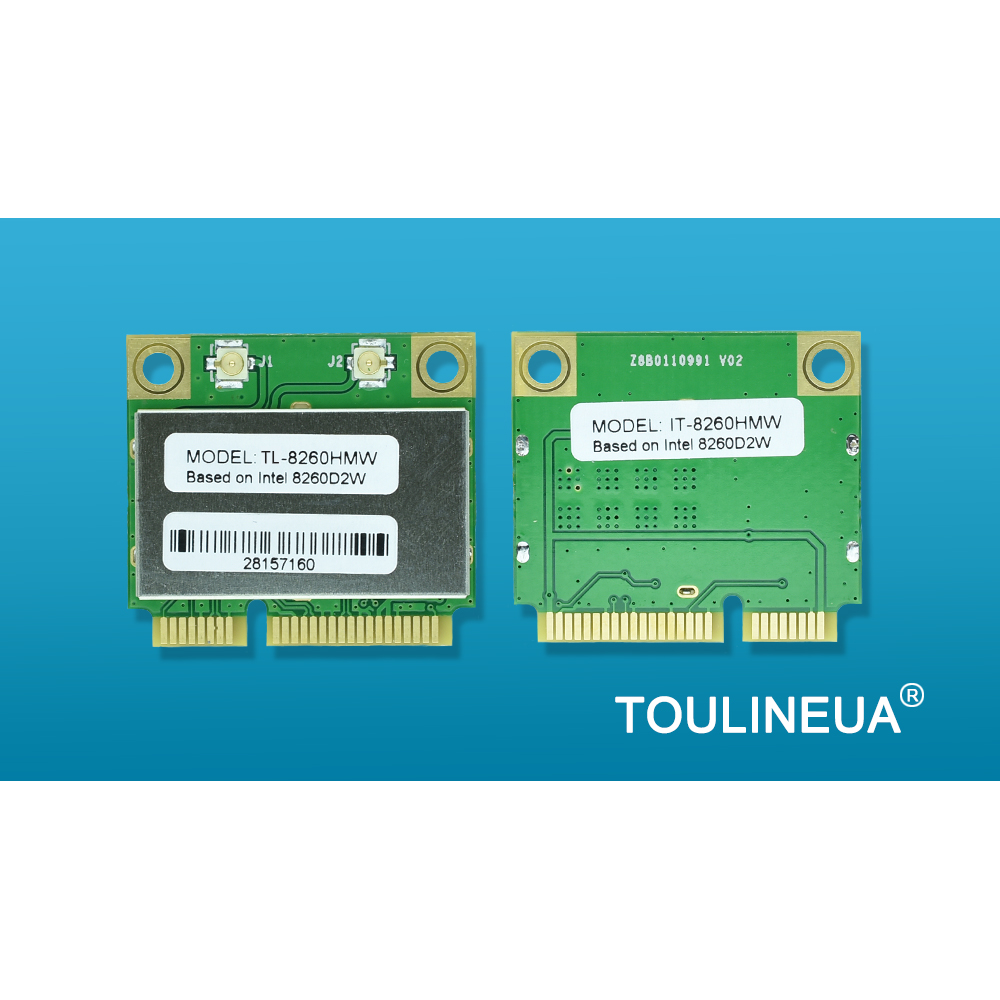 TL-8260HMW intel 8260HMW 8260 Intel8260 8260 AC 8265AC AX200 AX200HMW MiniPCIe WiFi Network Card PK 7260HMW 7260AC(China)