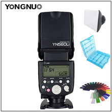 YONGNUO YN560Li Power Supply Flash Speedlite GN58 2.4G For Canon For Nikon Pentax Olympus DSLR Cameras