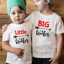 T-Shirt Matching Big/little-Brother Tops Short-Sleeve Baby-Boy 1pcs Outfits Tees Family