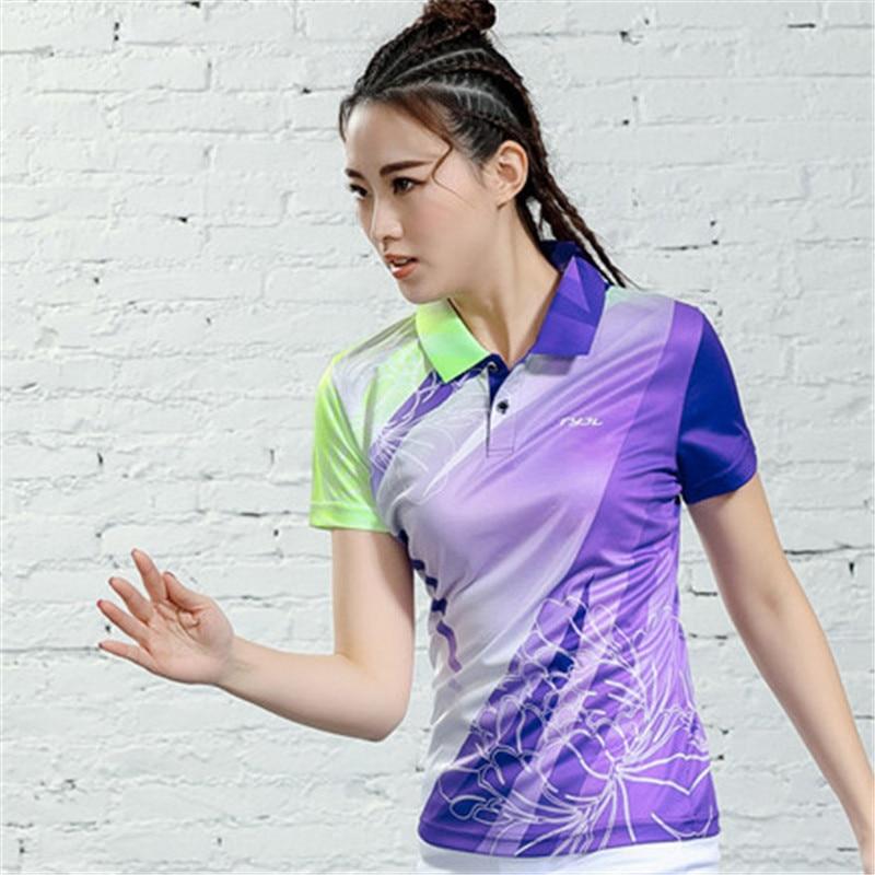 V-образная горловина, короткий рукав, форма для настольного тенниса, один топ для мужчин и женщин, летняя одежда для учеников средней школы, студентов средней школы - Цвет: B2621female2