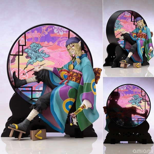 1/8 Skala 20 Cm Kusuriuri Anime Mononoke Ayakashi Koleksi Action Figure Pvc Anak Mainan untuk Anak Tokoh Anime Artfx J hadiah