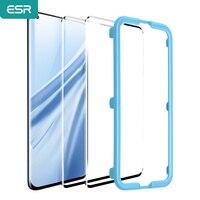 Esr vidro temperado para 2021 xiaomi 11/10/9/8 11 pro 8 se anti bluy-ray vidro cobertura completa tela macia filme tpu para mi 11 10 9