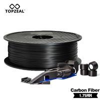 TOPZEAL di Alta Qualità PLA/ABS/PC/PETG/PA Filamenti In Fibra di Carbonio 1.75 millimetri di Plastica Gomma di Consumo materiale Utilizzato per 3D Stampante