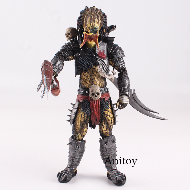 NECA alien Concrete Jungle Peel Yoys Action Figure Hunter PVC Collectible Ver.Toy Gift 23.5cm With box 1