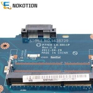 Image 2 - NOKOTION Laptop motherboard For Acer aspire 7750 7750Z P7YE0 LA 6911P MBRN802001 MB.RN802.001 MAIN BOARD HM65 DDR3