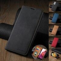 Custodia in pelle magnetica Ultra sottile per Samsung Galaxy S21 S20 FE S10 S9 plus A12 A32 A42 A52 A02s A51 A71 5G A21s A31 A50 A70