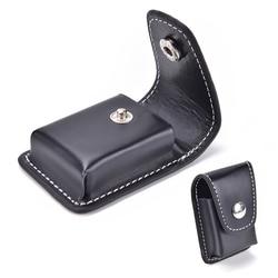 1Pc Pu wiatroszczelna Zip zapalniczki prezent uchwyt skrzynki torba małe pudełko Case dla Zippo Super mecz wysokiej skóry okładka mężczyzn