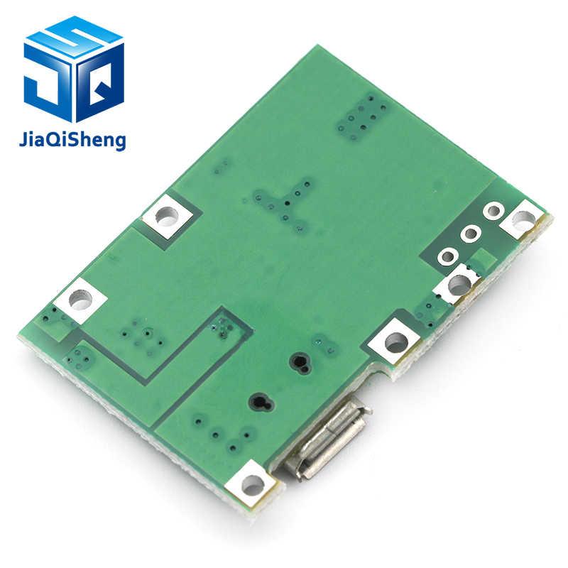 Lityum Li-ion 18650 3.7V 4.2V pil şarj cihazı kurulu DC-DC Step Up Boost modülü entegre devreler