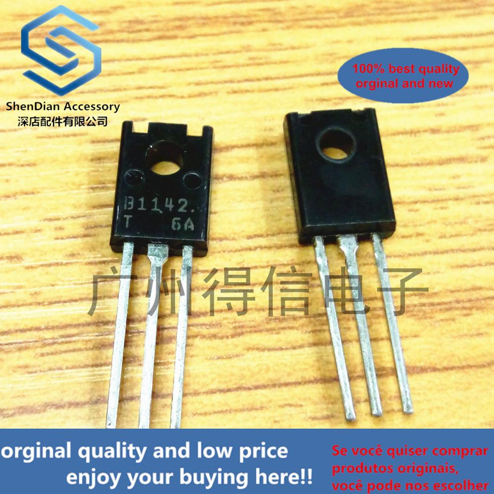 10pcs 100% New And Orginal 2SB1142 B1142 1142 TO-126 50V/2.5A High-Speed Switching Applications In Stock