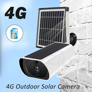 ZILNK Outdoor 3G 4G Solar Camera 1080P HD WiFi  Battery Powered Wireless Security Camera PIR Motion Detect 2MP SIM Card IP Cam 2