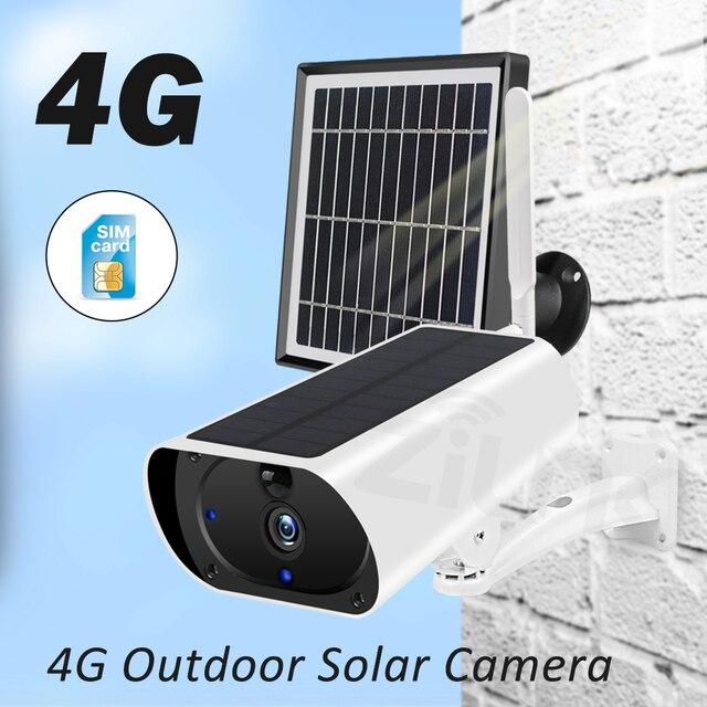 ZILNK Outdoor 3G 4G Solar Camera 1080P HD WiFi  Battery Powered Wireless Security Camera PIR Motion Detect 2MP SIM Card IP Cam 2