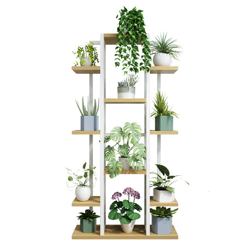 A Living Room Landing Type Iron Art Multi-storey Indoor Flower Airs Household Balcony Flowerpot Rack