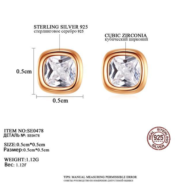 CZCITY Simple Classic Design 925 Silver Small Square Stud Earrings Women Men Tiny CZ Minimalist Jewelry.jpg 640x640 - CZCITY Simple Classic Design 925 Silver Small Square Stud Earrings Women & Men Tiny CZ Minimalist  Jewelry Gift Bijoux SE0478
