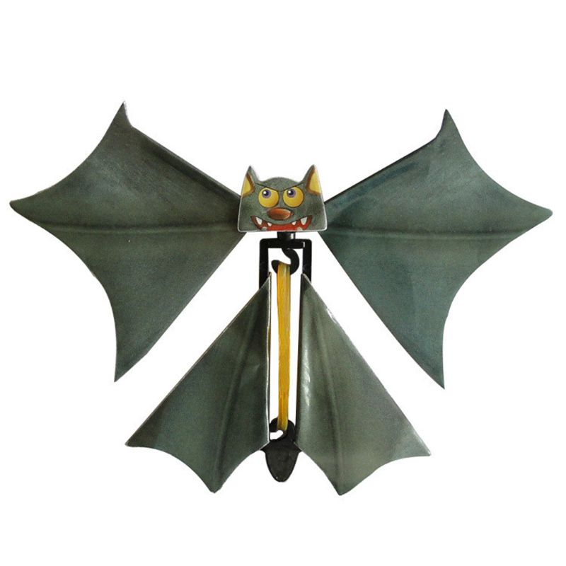 Magic Bat Flying Bat Hand Transformation Fly Butterfly Magic Props Funny Surprise Prank Joke Magic Toy D08C