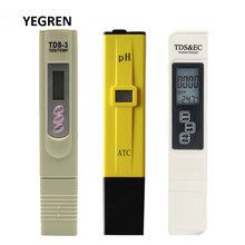 Портативный цифровой тестовый набор tds meter 0 14 ph Измеритель