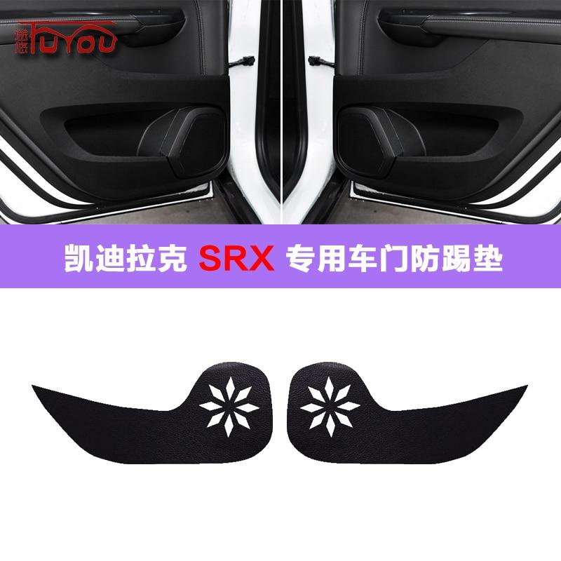 For Cadillac SRX 4pcs Car Inside Door Cover Pad Scratch Protection Anti Kick Pad Car Interior|Automotive Interior Stickers| |  - title=
