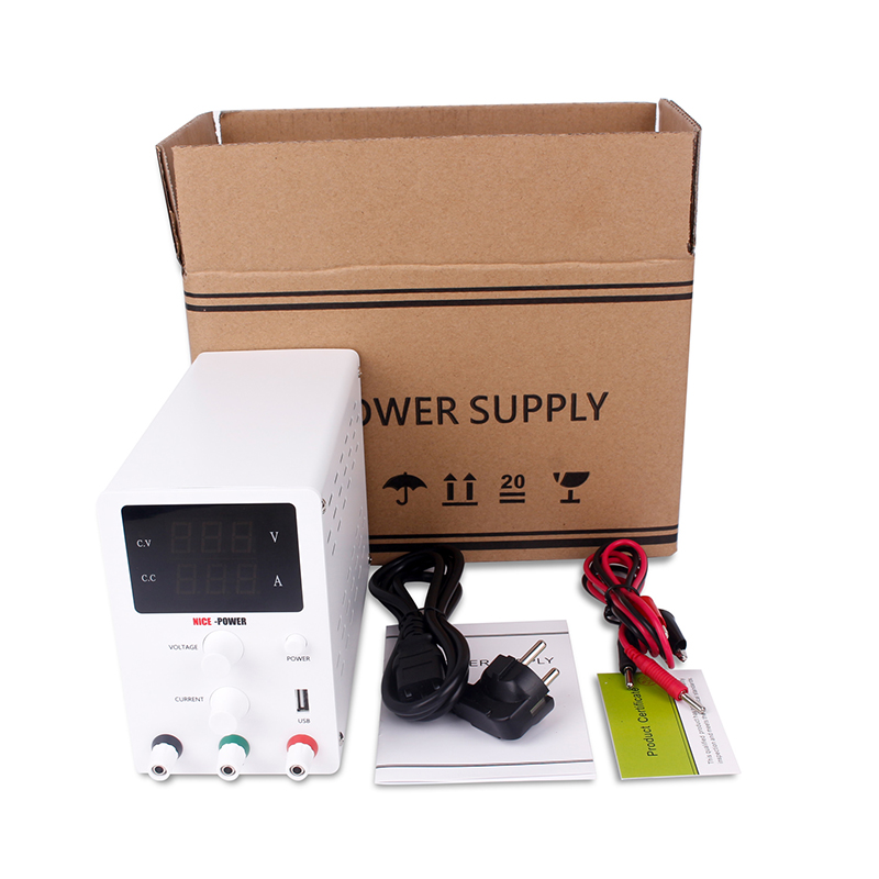 DC Switching Bench Power Supply Adjustable Laboratory 30v 10a Digital Power Supplies Power Source 110V 220V Bench Source-5