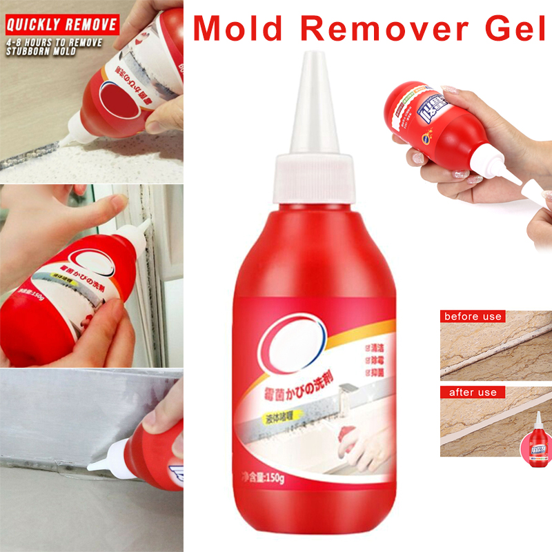 New High Efficiency Mold Remover Gel Caulk Gel Anti-Odor For Home Kitchen Bathroom Wall Tiles Cleaner Wood Fungicide Detergent