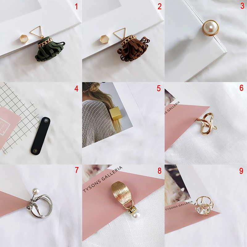 Perhiasan Mutiara Imitasi Dudukan Syal Syal Bros Klip Sutra Selendang Gesper Cincin Klip Perhiasan Hadiah Pesta Hadiah