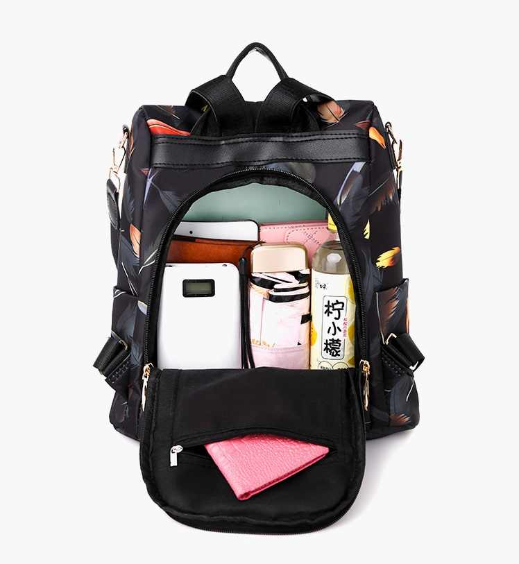 Mochilas mujer 2019 New Oxford tissu imperméable étudiant sac Voyage casual sac à dos femmes en plein air sac mochila feminina CL05