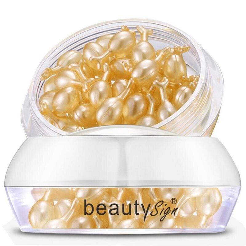 37pcs Hyaluronic Acid Capsules Vitamin E Serum Removing Whitening Cream Face Care Wrinkle Cream