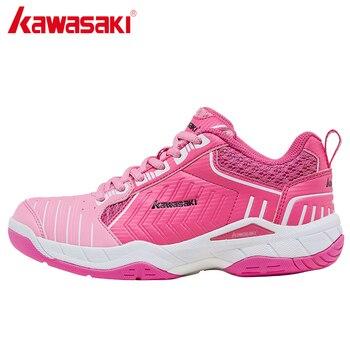 Kawasaki Badminton Sneaker for Men Women Indoor Sports Training Shoes Anti-Slippery Hard-Wearing  Zapatillas Mujer  K-162