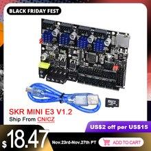 BIGTREETECH SKR MINI E3 V1.2 Ban Kiểm Soát 32 Bit Tích Hợp TMC2209 UART Driver Cho CR10 Ender 3 Pro 3D Máy In phần MKS TFT35