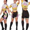 Roupa de ciclismo feminina manga curta, equipamento de equipe corporal sexy de tri skinsuit, roupas de ciclismo personalizadas, triathlon, 2020 19
