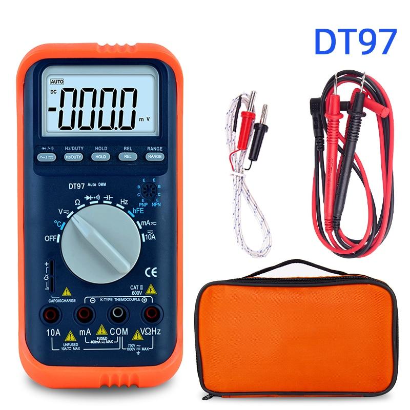 Мультиметр Цифровой esr метр Транзистор тестер переменного/постоянного напряжения вольтметр с индикатором мультиметр температура с тестов