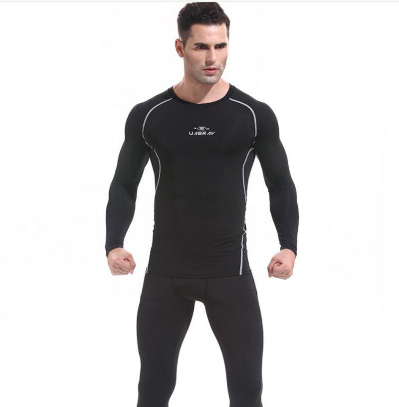 Nouveau collants de sport de Fitness vêtements à séchage rapide collants pour hommes nouveau produit collants Production professionnelle E914