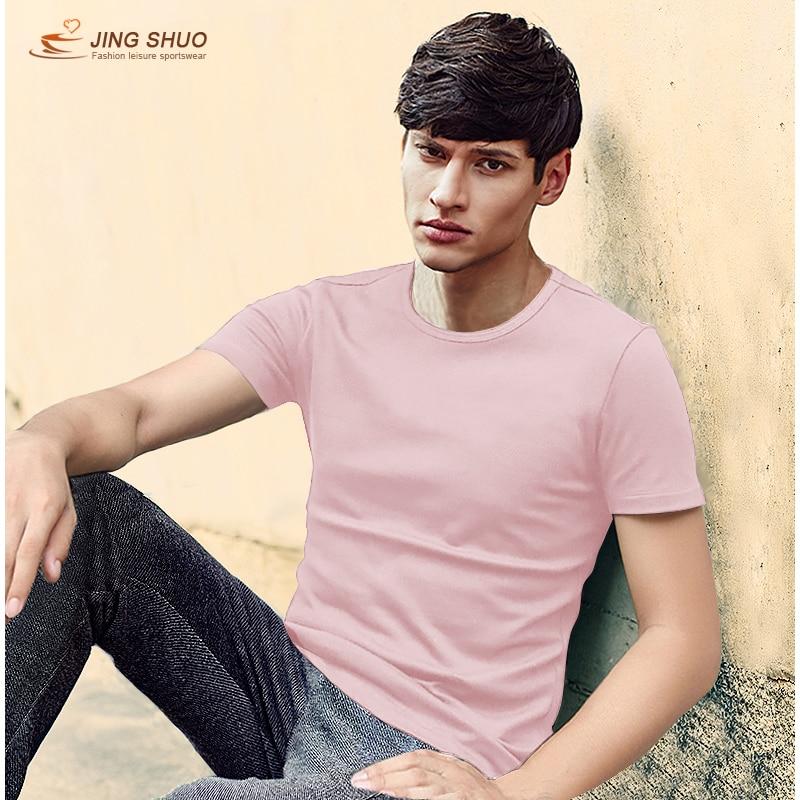 Новинка, просто цветная футболка, мужская хлопковая Повседневная футболка, летняя футболка для скейтборда, футболка для мальчиков