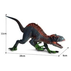 Image 2 - Indoraptor Velociraptor דינוזאורים צעצוע קלאסי צעצועי ילד מודל חיה דמויות