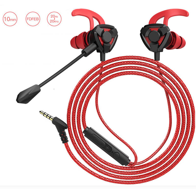 Metermall Gaming Earphone 7.1 Headset Helmets with Dual Mic Gaming Earphones PC Gamer with Volume Control for PUBG PS4 CSGO Casque Games Black
