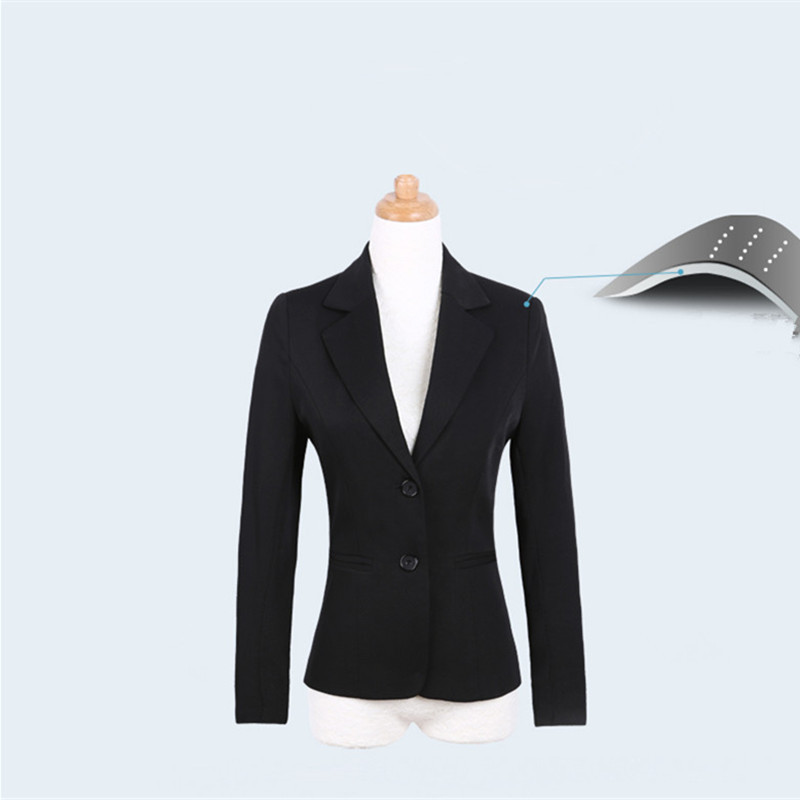 Women's Suit Spring Autumn Blazers Office Ladies Work Clothes Elegant Blazer Set Plus Size Female Business Jacket LWL279