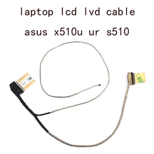 DD0XKGLC001 cuaderno LVDS LCD Video Flex Cable para Asus X510 X510UR UN UQ V510U A501UN S510UQ UA 14005 02040800 30 pines