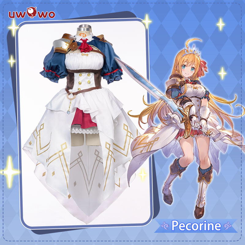 【Pre-sale】UWOWO Game Princess Connect! Re:Dive Pecoline/Eustiana Von Astraea Dress Cosplay Costume