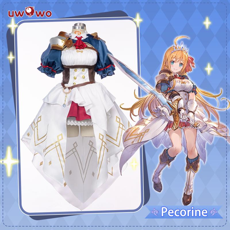 【Pre-sale】UWOWO Game Princess Connect! Re:Dive Pecoline/Eustiana Von Astraea Dress Cosplay Costume