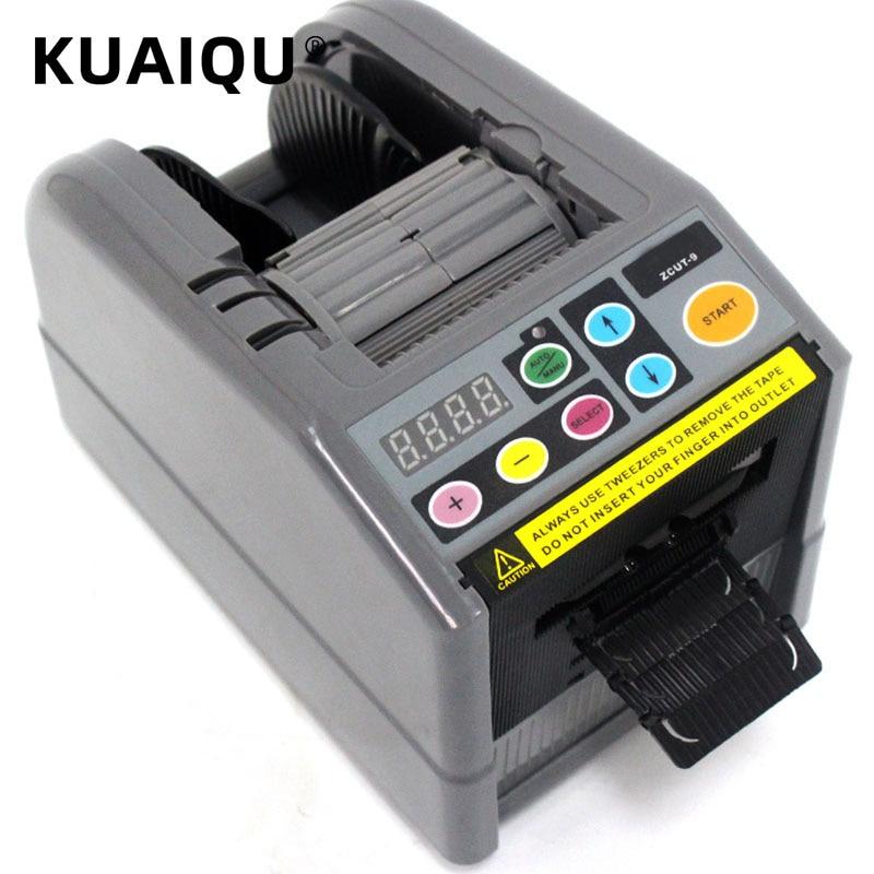 KUAIQU Automatic Tape Dispenser ZCUT-9 Efficient Microcomputer Intelligent large Auto Tape Cutter Tape Cutting Machine