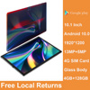 2021 Global version 4G phone Tablet 10.1 inch 2.5D Glass Tablet Android 10 Helio P60 4GB RAM 128GB ROM android Gaming Tablet GPS