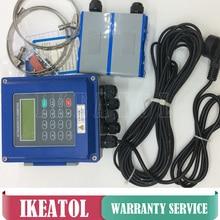 Data Memory SD version TUF-2000B TM-1 (DN50mm-700mm) liquid ultrasonic flow meter digital flowmeters